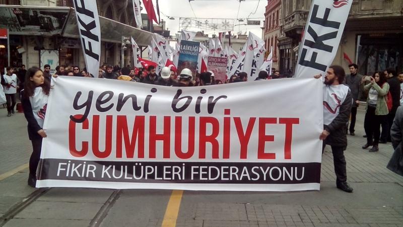 FKF'den 29 Ekim açıklaması:Tarikatlar yıkılacak