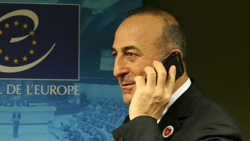 Çavuşoğlu, mevkidaşı ABD'li Kerry ile telefonda görüştü