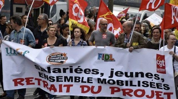 EURO 2016 öncesi Fransa'da yeni grev dalgası!