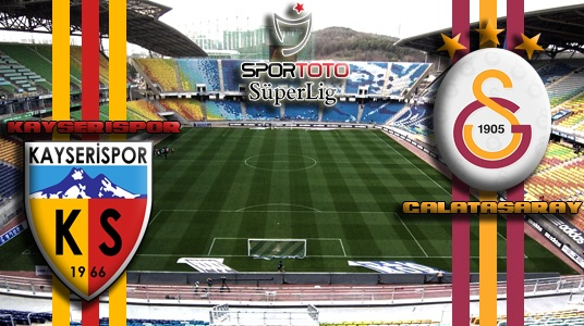 Galatasaray 1 - 1 Kayserispor