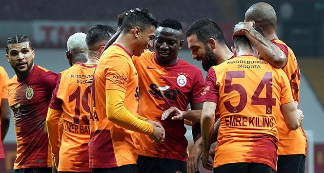 Galatasaray ligdeki yenilmezlik serisini 8'e çıkardı