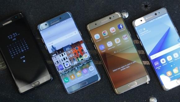 Samsung GalaxyNote7 şarjdayken patladı