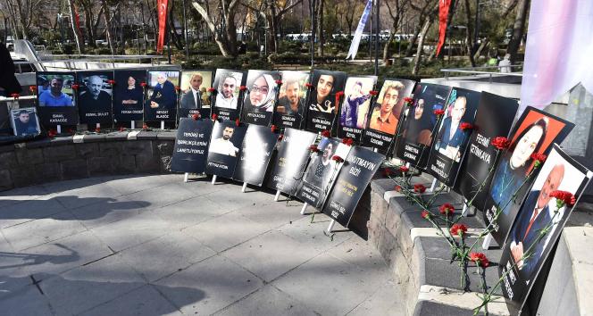Güvenpark terör saldırısında hayatını kaybedenler anıldı