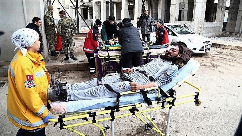 Halep'ten Hatay'a getirilen yaralıların sayısı 131'e ulaştı