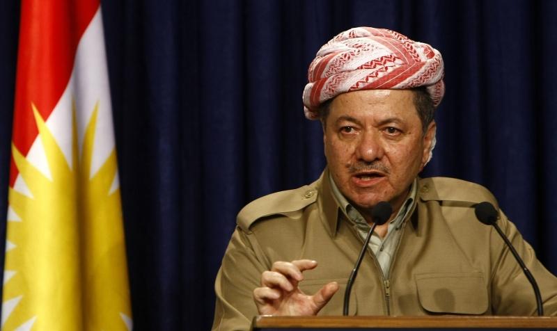 Barzani'den Hazır Cephesi'ne ziyaret!