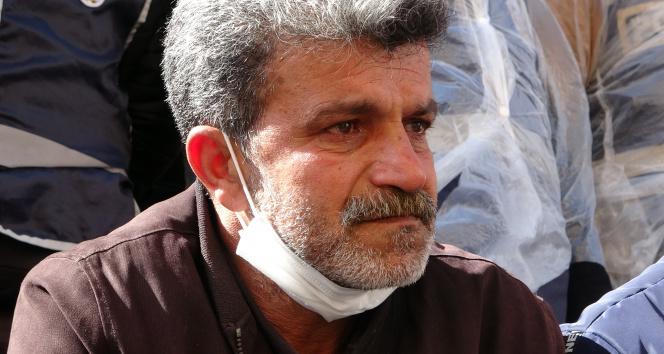 HDP önündeki eylemde acılı babadan kararlı duruş