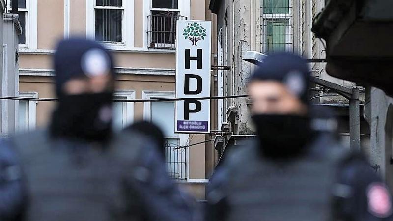 HDP'ye yönelik operasyonlarda 118 kişi gözaltında
