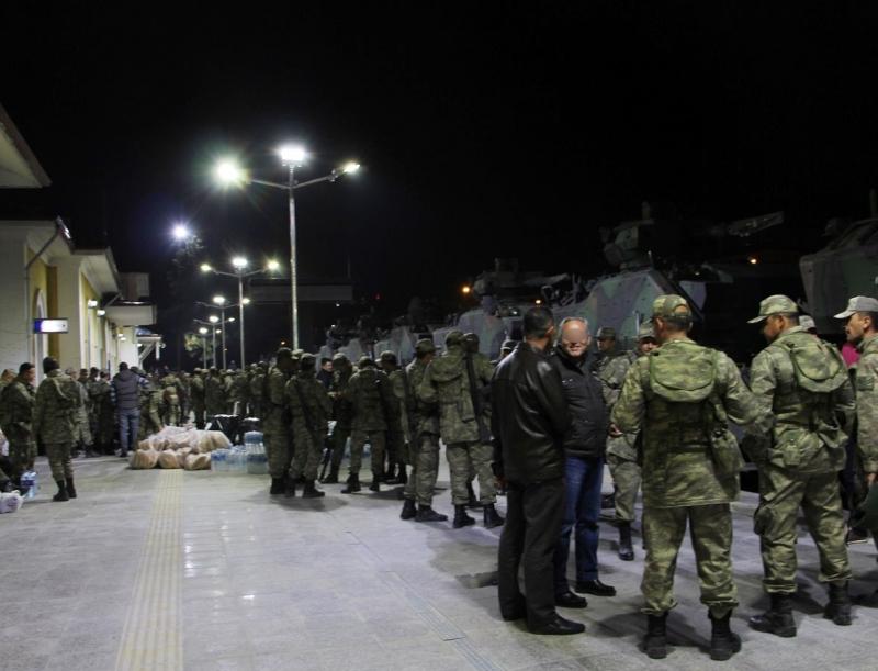 Çankırı'dan Irak sınırına askeri sevkiyat!