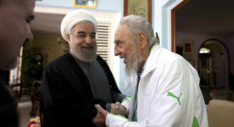 İran ve Küba'nın büyük buluşması!