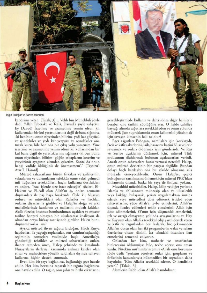 IŞİD dergisinin yeni sayısında suikast mesajı!