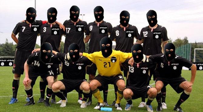 İŞİD'den yok artık dedirten futbol yasağı!