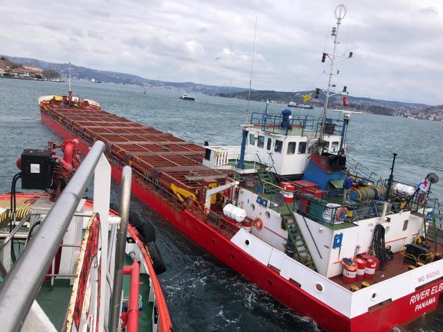 İstanbul Boğazı'nda Korkutan Arıza! Sürüklenerek Kıyıya Doğru İlerledi