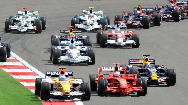 İstanbul Park'ta F1 Heyecanı