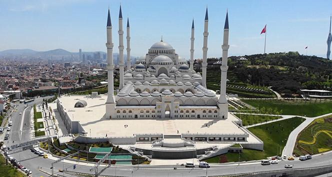İstanbul'un yeni silueti Çamlıca Camii