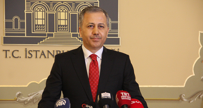 İstanbul Valisi Ali Yerlikaya'dan, Süleyman Soylu'ya başsağlığı
