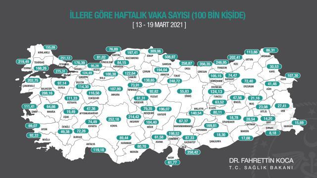 İstanbul'daki Koronalı Hasta Sayısı Bir İlçe Nüfusu Kadar