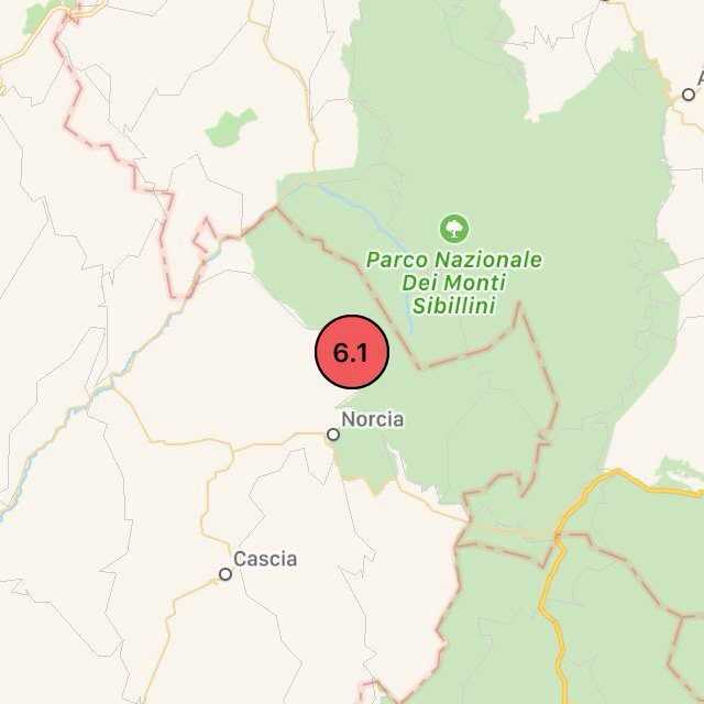 İtalya'da 6,5 büyüklüğünde deprem!