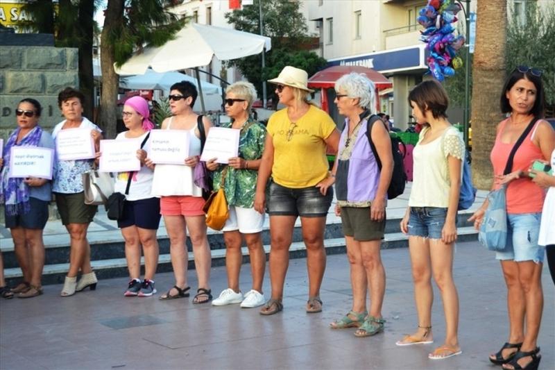 Kadınlardan Ayşe Terzi'ye 'şortlu' destek