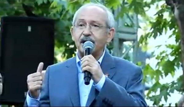 AKP'li gence Kılıçdaroğlu'ndan teşekkür