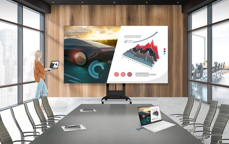 """LG'den """"Hepsi Bir Arada"""" Akıllı LED Ekranı: LAEC015"""