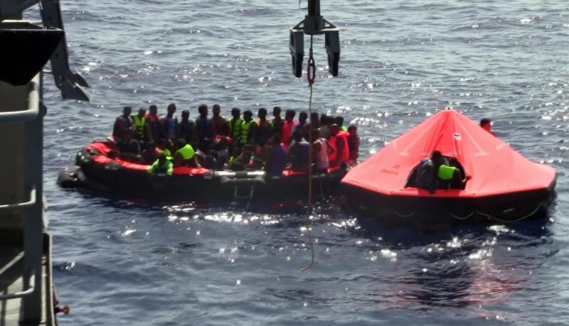 Akdeniz de göçmen faciası! 239 ölü var!