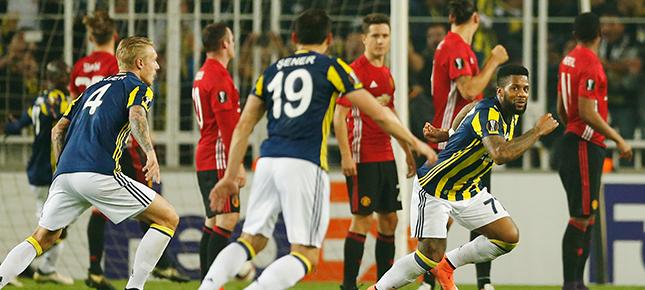 MANU'ya Kadıköy'den çıkış yok Fenerbahçe 2 - 1 Manchester United