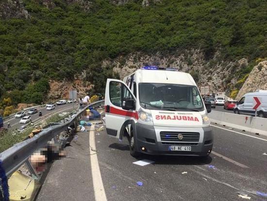 Marmaris'te akılalmaz kaza: Ölü sayısı 23'e çıktı.