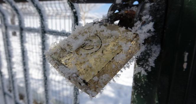 Mart ayında dondurucu soğuklar: Göle eksi 28