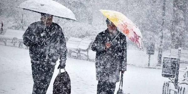 Meteoroloji uyardı: Salıdan itibaren kar gelecek