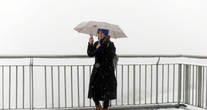 Meteorolojiden kar ve kuvvetli rüzgar uyarısı