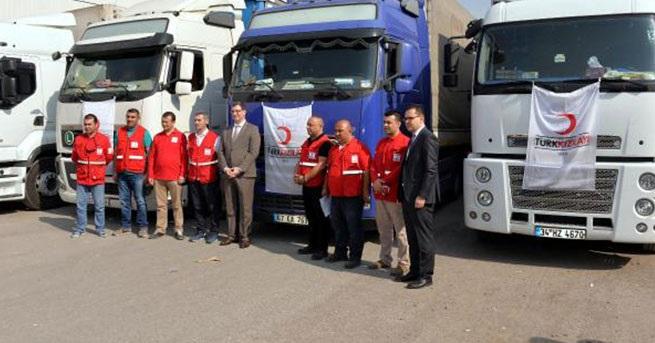 Musul'a ilk yardım Türkiye'den