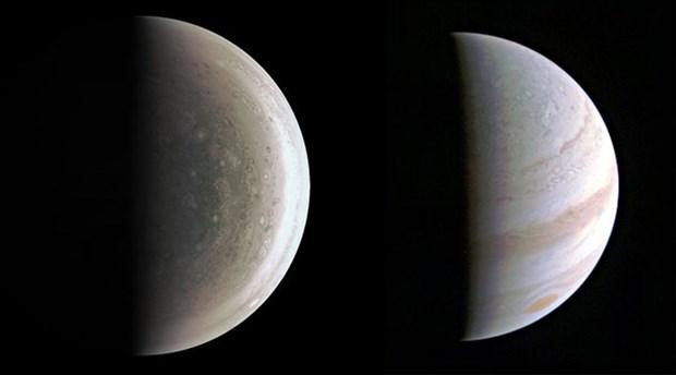 NASA Jupiter'in en net görüntülerini yayınladı!