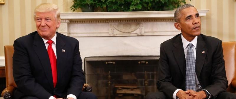 Obama ile Trump Beyaz Saray'da görüştü!