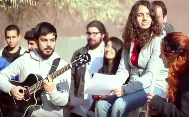 ODTÜ'den Boğaziçi'ne şarkılı destek