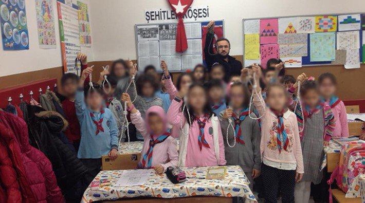 CHP'li vekil duyurdu: Korkunç fotoğrafı çeken öğretmen açığa alındı