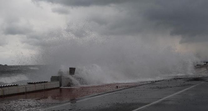 Orta Karadeniz için fırtına uyarısı