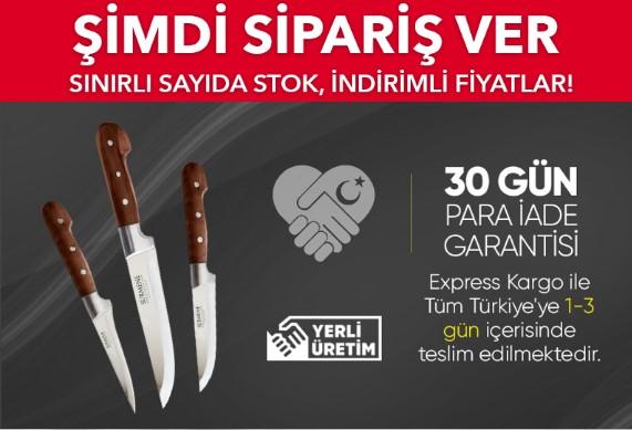 Paslanmaz Çelik Bıçaklar