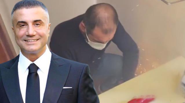 Polis Ekipleri Sedat Peker'in Lüks Villasındaki Çelik Kasayı Keserek Açmış