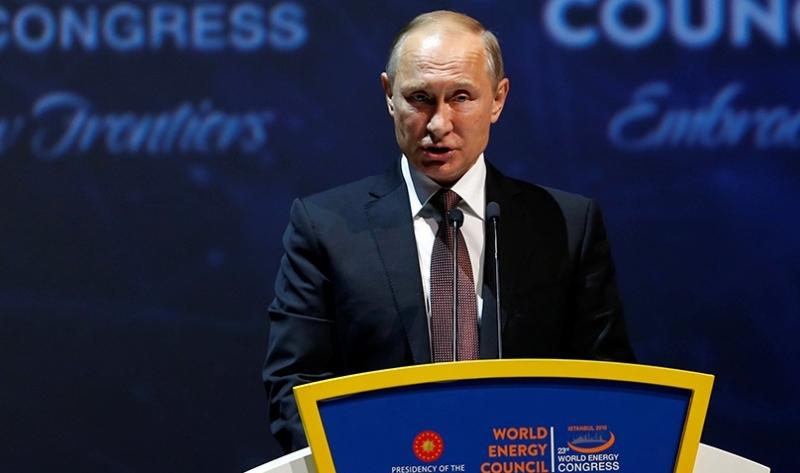 Rusya Devlet Başkanı Putin, 23. Dünya Enerji Kongresi'nde konuştu