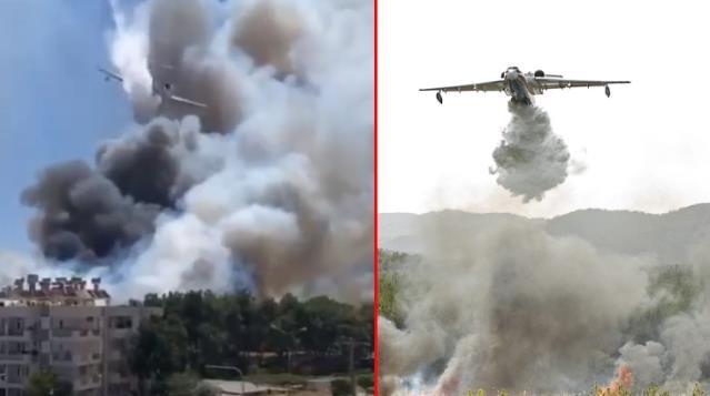 Rusya'dan Türkiye'de ki Yangınlara Büyük Destek