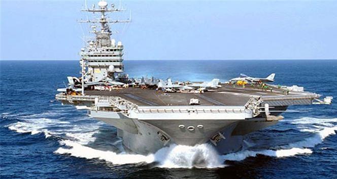 Rusya'nın uçak gemisinden İŞİD'le mücadeleye destek