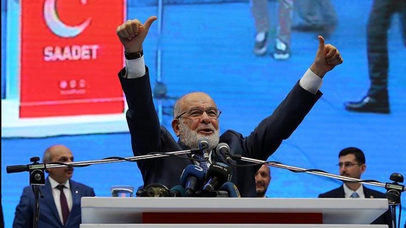 Saadet Partisi'nin yeni başkanı Temel Karamollaoğlu seçildi
