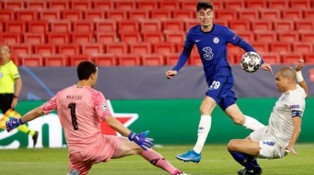 Şampiyonlar Ligi'nde Chelsea Yarı Finale Yükseldi
