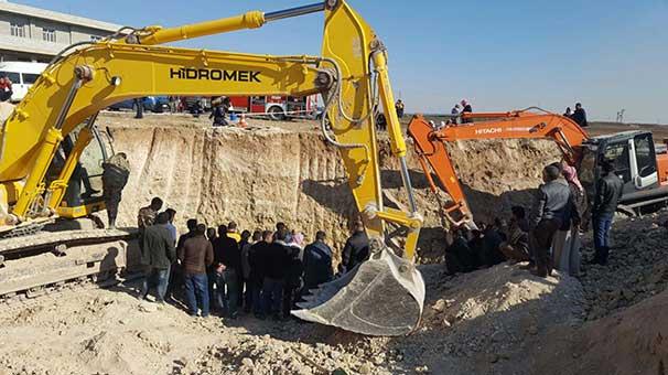 Şanlıurfa'da, 25 metrelik kuyuya düşen 8 yaşındaki kıza hala ulaşılamadı