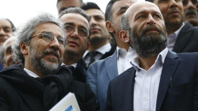 Can Dündar ve Erdem Gül'ün 'MİT TIRLARI' davasında gizlilik kararı