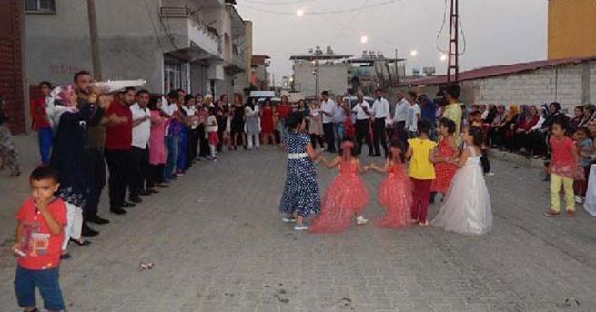 Sokakta düğün yapmak yasaklandı!