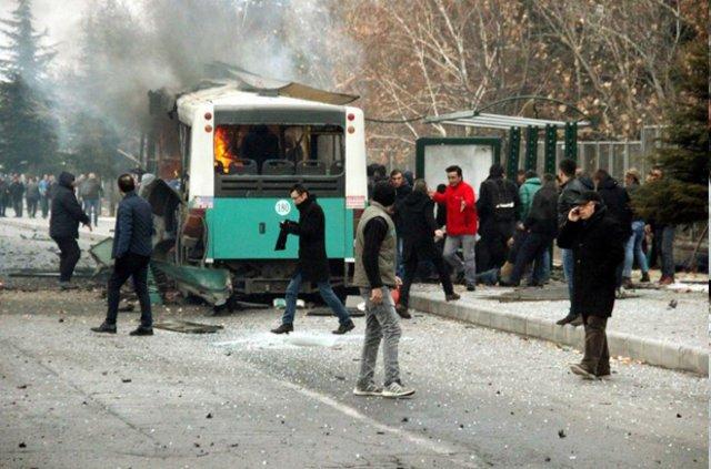 STK'lardan Kayseri saldırısına kınama!