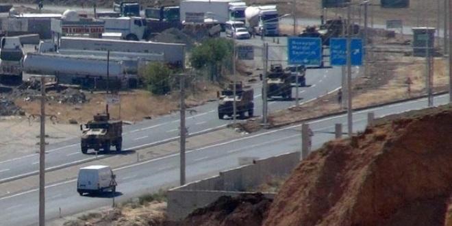 TSK'dan Irak sınırına askeri sevkiyat