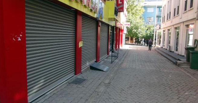 Tunceli'deki kepenk kapatma eylemine savcılıktan soruşturma