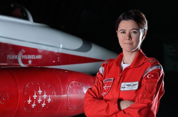 Türk Hava Kuvvetleri filo komutanlığında ilk kadın pilot Esra Özatay oldu